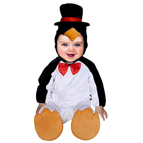 Disfraz Pinguino Bebe,Toddler Disfraces Halloween Carnaval Traje Animales Ropa Pelele Cosplay 3PC