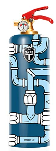 DNC TAG Safe-T Feuerlöscher Design Pipe ROHRE Fittings
