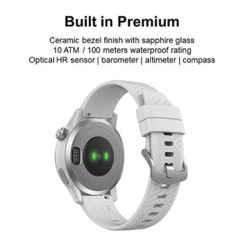 COROS APEX (42mm) Premium Multisport Watch Trainer Ultra-Durable Battery Life - Ceramic | Heart Rate...