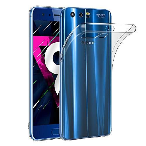 Amonke Honor 9 Hülle Handyhülle Für Huawei Honor 9 - Ultra Dünn Crystal Clear TPU Transparent Hülle, Soft Flexibel Silikon Durchsichtige Schutzhülle Für Huawei Honor 9
