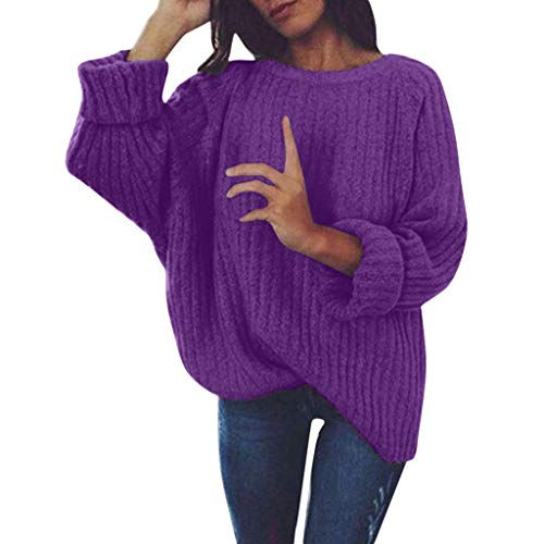 Great Price! Women's Loose Sweater,Ladies Pullover Chunky Knitted Casual Top Blouse Knitwear Sweater...