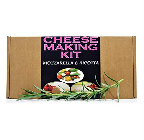 Kit para hacer queso mozzarella y ricotta, un gran regalo, presente para todas las ocasiones contiene cuajo