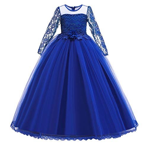 K-Youth Vestido de Novia Chica Bordado Tutú Vestidos de Princesa Niñas Vestido...