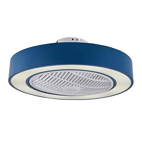 Solar-A plafondventilator, led, 72 W, rond plafond, dimbaar, modern ventilatoraccessoire met afstandsbediening, geschikt voor plafondlamp voor woonkamer en woonkamer