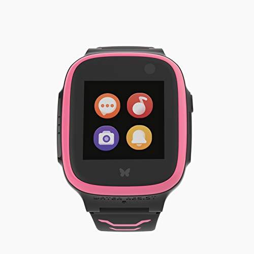XPLORA X5 Play eSIM Pink Smartwatch für Kinder und 30€ Amazon-Gutschein | Kinderuhr mit GPS | Telefonuhr | GPS-Uhr | Tracker für Kinder
