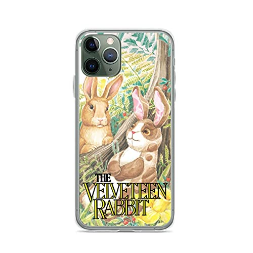 YICHIBAOEL Fundas para teléfono Pure Clear compatibles con iPhone 12/11 Pro MAX 12 Mini SE X/XS MAX XR 8 7 6 10s Plus Case-The Velveteen Rabbit
