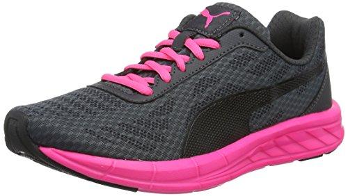 Puma Meteor Wn's - Scarpe da corsa Donna, colore nero (puma black-asphalt-knockout pink 08), taglia 40.5