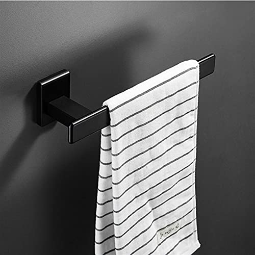 JINYIWJ Estantes de baño Estantes de Pared de Aluminio Negro Estante Caja de Tejido de Aluminio Aluminio Rincón Estante Montado en la Pared Cocina Tenedor de Almacenamiento Spice Rack (Color : D)
