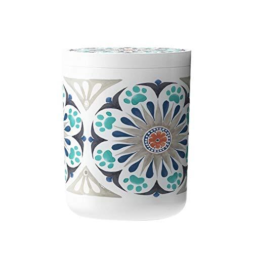 New OKSLO Carmel medalltreat jar grey, 2 pet treat jar Model (22467-28364-21994-23999)