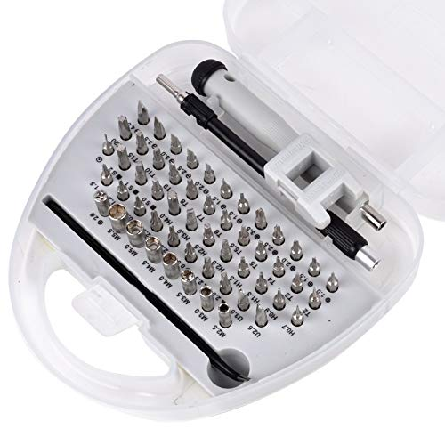 SUSHANCANGLONG Juego de destornilladores de precisión 58 en 1 multifunción, herramienta de reparación de electrónica profesional para teléfono móvil, tableta, herramientas para el hogar