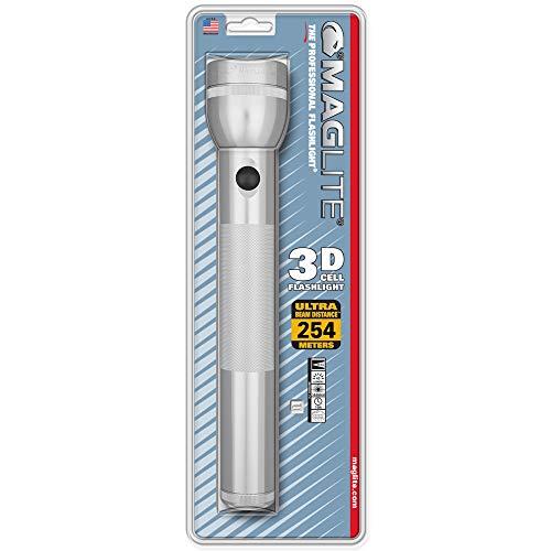 Mag-Lite S3D106 3 D-Cell Lampe Torche Métal Argent 31,5 cm
