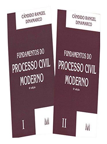 Fundamentos do Processo Civil Moderno - 2 Volumes