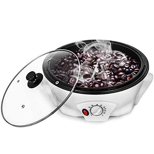 TTFGG Elektrischer Kaffeeröster Kaffeebohnen, Elektrische Kaffeebohnenbraten Maschine Haushaltsbackenmaschine Kaffeebohnen Röstmaschine Für Heimgebrauch