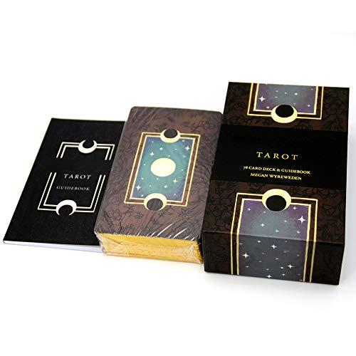 zuoshini Die Anima Mundi Tarot Tarotkarten Tarotkarten 78-Karten Deck Desktop Kartenspielset Geschenk für Anfänger Und Erfahrene Leser