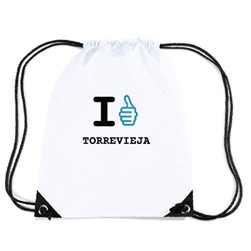 JOllify TORREVIEJA Turnbeutel Tasche GYM3659 – Design: I Like - Ich mag