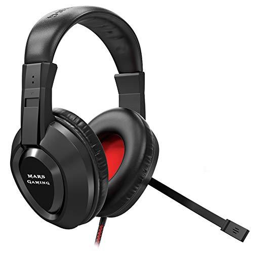Mars Gaming MH217 - Auriculares gaming micrófono