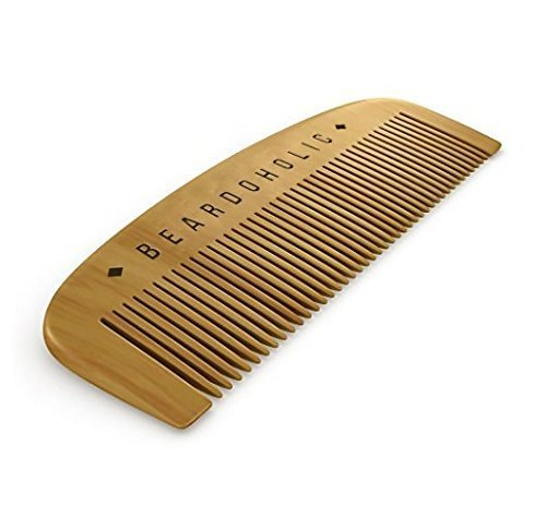 Beard Comb with Gift Box - Fine Toothed - Anti Static & Detangles Your Beard, Mustaches and Head...