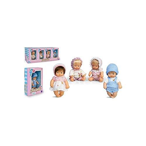 Barriguitas - Muñeca INDIVIDUAL bebé con ropita, Envío ALEATORIO entre 4 modelos distintos (Famosa 700015556)