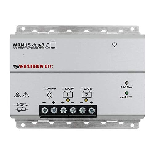 WRM15 dualB-E Regolatore di carica dual battery 15A MPPT