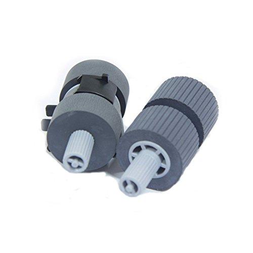 SLON New Scanner Pick Roller Set 2 Rollers Fi6670 Fi-6670 Fi-6770 Fi-6770A Fi-5650C FI-5650C FI-5750C Fi-5750 Part No :PA03338-K011