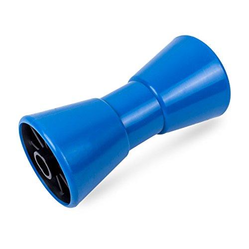 ProPlus Kielrolle PE 200 mm Blau 22mm Bohrung für Bootstrailer