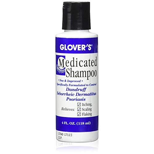Glovers Medicated Shampoo 4 oz (Pack of 2)