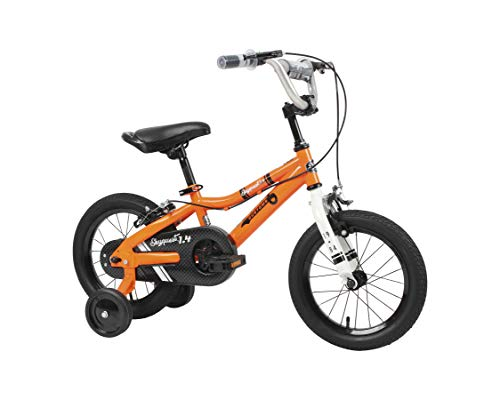 Duzy Customs 14'' Orange Kids Bike with Five Minute Quick Assembly
