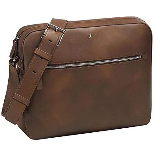 Montblanc MST Sfumato Messenger Zip Top Brown 118338
