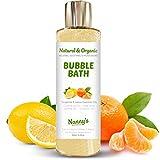 Schaumbad   100% Naturell 76% Biologisch   Mandarine & Zitrone   Hervorragend for Kinder, Babies &...