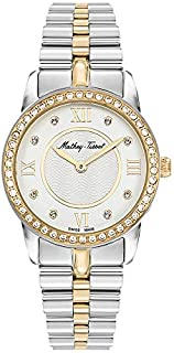 Mathey Tissot Artemis Women's Off-White Dial Stainless Steel Band Watch - D1086BQYI