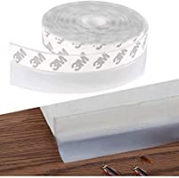 AIWANTO Self-adhesive Door Seal Strip Thermal and Sound-proof Adhesive Strip for Door Window Seam Windproof Anti-theft...