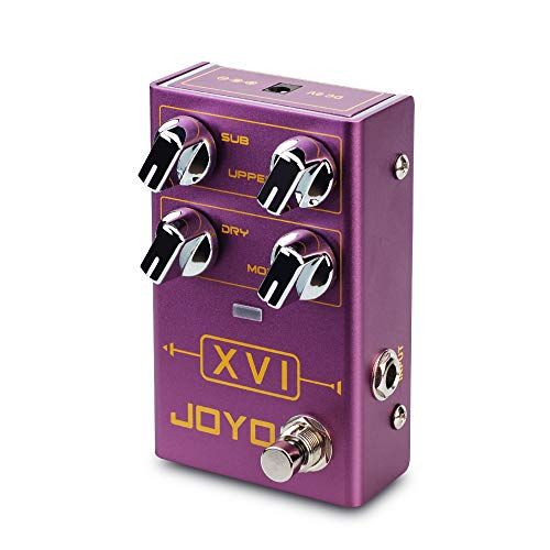 JOYO XVI R-13 R Series Octave Effect Pedal with MOD