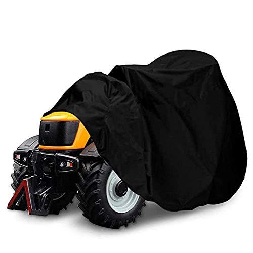Cubierta para cortacésped, Cubierta para Tractor jardín Resistente a los Rayos UV con Estuche Almacenamiento, Cubierta Protectora Universal Resistente a la Intemperie para Exteriores (Color : S)
