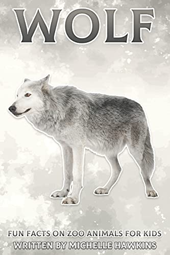 Wolf: Fun Facts on Zoo Animals for Kids #25