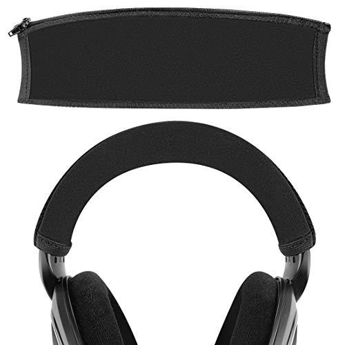 Geekria Funda de diadema compatible con HD598, HD579, HD559, HD558, HD518, HD599 auriculares/diadema protector/almohadilla de repuesto para almohadilla