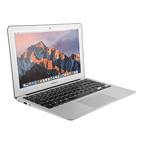 Apple MacBook Air MJVE2LL/A 13.3' Early 2015 - Intel Core i5 1.6GHz, 4GB RAM, 256GB SSD - Silver (U.S. QWERTY KEYBOARD) (Renewed)
