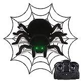 Niedliches Insektenspielzeug Fernbedienung Spinne Spielzeug RC Spinne Scary Toy Cool Gadget lustiges Geschenk for Kinder Jungen Mädchen Jugendliche Erwachsene Spielzeug Für das Geschenk der Kinder -