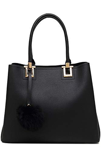 Top-Handle Purse For Ladies,Sammie Tote Shoulder Bag Fashion Top-Handle Purse For Ladies by Mia K. Collection