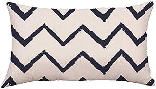 YYBF Almohada de Limpieza extraíble de algodón Almohada de Viaje de Cuello Inflable 50x30cm D