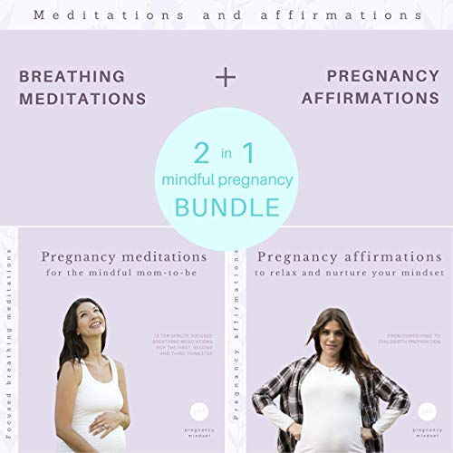 Pregnancy affirmations / Breathing meditations audiobook cover art