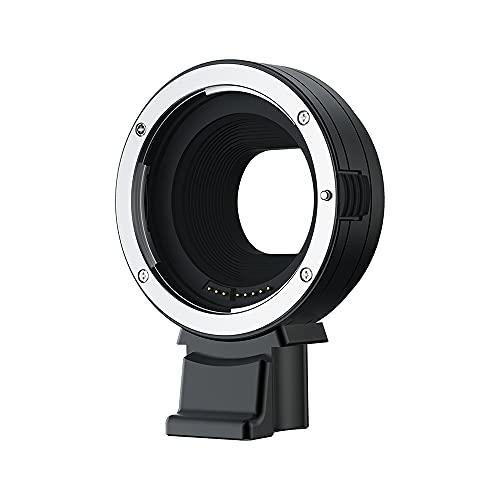 Adaptador de montaje de lente de enfoque automático electrónico JJC EF-EOS M para lente Canon EF EF-S a cámara de montaje Canon EOS M5 M6 M10 M50 M100 M200