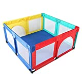 XIAO WEI Portable Baby playpen Playground for Toddlers with a Door Activity Center Washable Center Fence Portable Indoor and Outdoor Playground