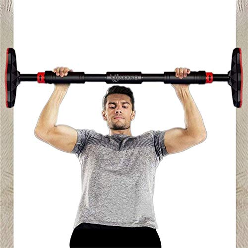 Pull Up Bar Chin Up Bar for Doorway No Screws Upper Body with Locking Mechanism Exercise Fitness Workout Bar(26''-39'')