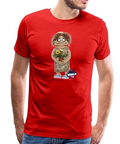 Wiwaldi Und Co Charming Traudl Männer Premium T-Shirt, 3XL, Rot