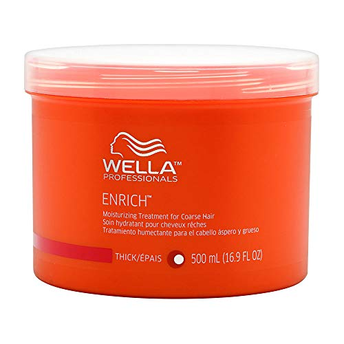 Price comparison product image Wella Enrich Moisturizing Treatment for Coarse Hair 500ml / 16.9oz,  16.9 Oz