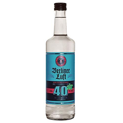 Berliner Luft Strong 0,7l Flasche 40% Klarer Pfefferminzlikör