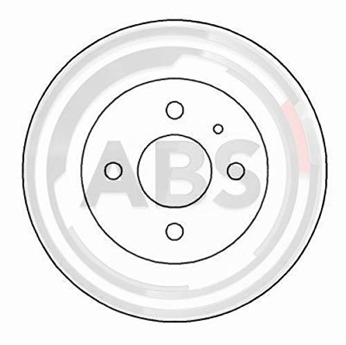 ABS 15051 Bremsscheiben - (Verpackung enthält 2 Bremsscheiben)