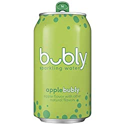 bubly sparkling water apple flavor