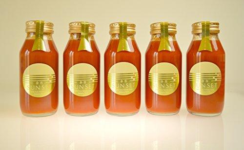北海道 最高級 トマトジュース (180ml 5本) 食塩無添加 プレミアム ギフト