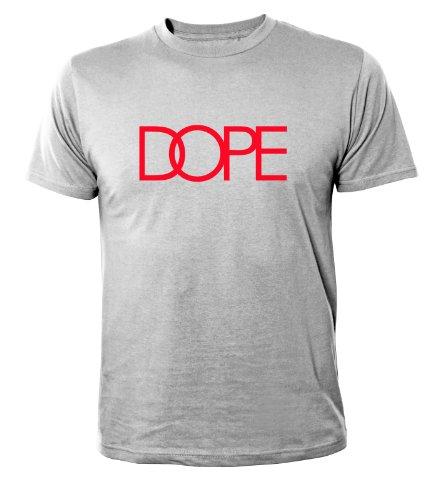 Mister Merchandise Homme Cool Chemise T-Shirt DOPE , Size: XL, Color: Gris